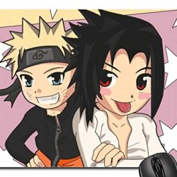 Naruto And Sasuke Mouse Pad, Mousepad
