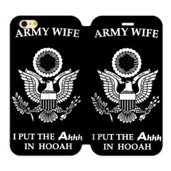 Jdsitem Unique Proud Army Wife Design Case Cover Sleeve Protector For Phone Iphone 6 Plus 5.5""