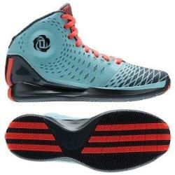 Adidas Derrick D Rose 3.5 Zest Blue/Pop/Dark Onix G66477 Men'S Basketball Shoes (Size 8.5)