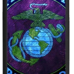 """Lilichen Cool Design Forever Collectible Usmc Marine Corps Case Cover For Iphone 6 Plus 5.5""""(Laser Technology) -- Desgin By Lilichen"""