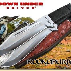 Down Under Knives Kookaburra Throwing/Hunting/Utility Knife Set