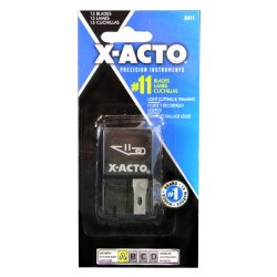 X-Acto Nonrefillable Blade Dispenser, 15 Per Pack (X411)