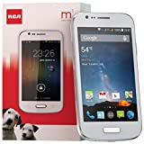 RCA M1 4.0 Unlocked Dual SIM, 5MP Camera, Android 4.4, 1.3GHz (White)