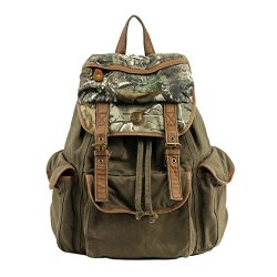 Deer Mum Camo Mountaineers Tactical Hunting Airsoft Paintball Canvas Messenger Camping Shoulder Bag
