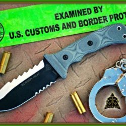 Tops Knives Border Heat Survival Knife Bdh-05