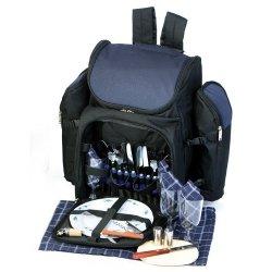 Picnic Plus Tandoor 4 Person Picnic Backpack Navy