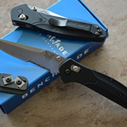Benchmade 943S Osborne Axis Lock Knife W/ Free Benchmade Mini Sharpener
