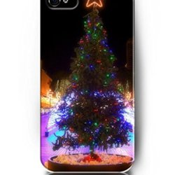 Beautiful Christmas Tree - Ukase Cases Unique Colorful Painted Cover Skin For Iphone 5 5S