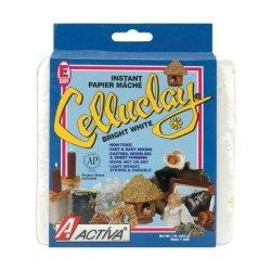 Celluclay Ii Paper Mache White 1Lb