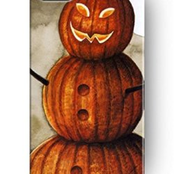 Sprawl New Classic Vintage Charming Design Personalized Hard Plastic Snap On Slim Fit Pumpkin Man 5 5S Iphone Case