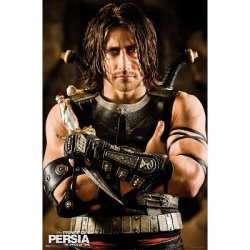 Professionally Framed Prince Of Persia: The Sands Of Time Movie (Dagger) Poster Print - 22X34 With Richandframous Black Wood Frame