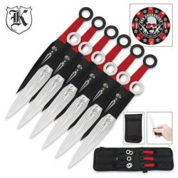 Second Amendment Throwing Knife Set