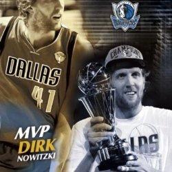 Finals Mvp Dirk Nowitzki Poster 61X91.5Cm