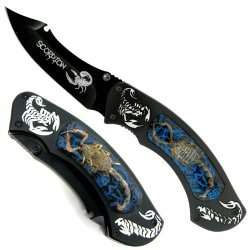 Fantasy Master Fmt-016Bl Fantasy Folding Knife 5 Closed