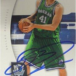Dirk Nowitzki 2005/06 Upper Deck Sp Authentic Hand Signed Card Ga Vg 766553