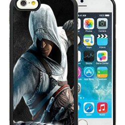 Diy Assassins Creed Desmond Miles Guard Helmet Fist Knife Iphone 6 4.7 Inch Black Phone Case