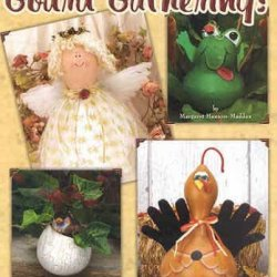 Gourd Gatherings - 17 Decorative Painting Projects For Natural And Paper Mache Gourds