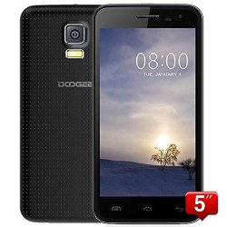 "Doogee Voyager2 Dg310 5"" Ips Fwvga Screen Mtk6582 1.3Ghz Quad Core Quadband Dual Sim Dual Standby Anroid4.4 Ram 1G Rom 8G Cellphone Mobile Phone 3G Phone Smartphone With Smart Wake Wifi 5.0Mp 13.0Mp Camera Gps Bluetooth 4.0 (Black)"