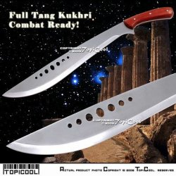 Full Tang Combat Bolo Kukhri Sword Knife Sharp Sheath
