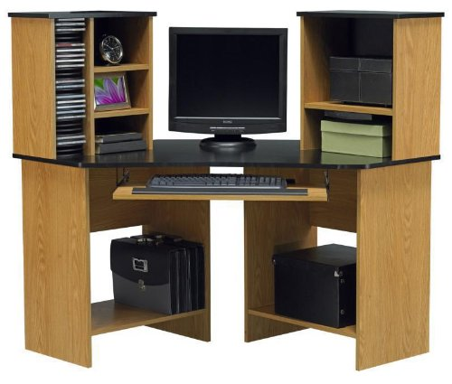 Picture of Comfortable Corner computer desk by Ameriwood Furniture (B00592G9SG) (Computer Desks)