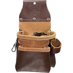 Occidental Leather 9-Pocket Tool Holder Leather Trimmer Belt Tool Storage Bag