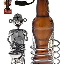 Fabulous Beer Holder Chef While Grilling Beer Bottle Holder Plus A Wine Foil Cutter And A Wine Bottle Stopper