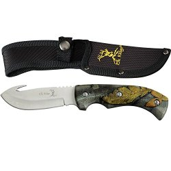 Elk Ridge Er-274Fc Fixed Blade Knife 8.75-Inch Overall
