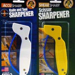 Accu Sharp Original & Scissorsharp Sharpener Combo