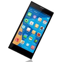 "Megoodo Doogee Dagger Dg550 Mtk6592 Octa Core 1.7Ghz Andriod 4.2.9 Phone 5.5"" Ips Ogs 1280*720 1Gb Ram 16Gb Rom 13.0Mp Gps Smart Phone (Black)"