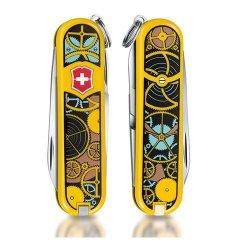 Victorinox Swiss Army Classic Sd Limited Edition 2015 Pocket Multi-Tool Knife, Swiss Clockwork