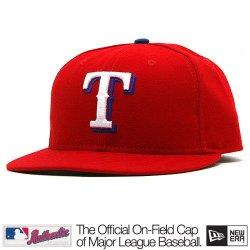 Texas Rangers Mlb Authentic Baseball Cap 7-3/8 Osfa - Like New