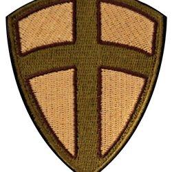 Crusader Shield Patch