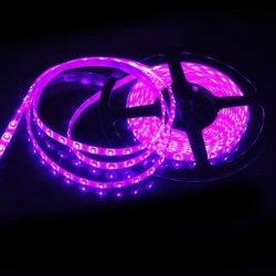 5M Waterproof Ip65 300 Led 3528 Smd Flexible Led Light Lamp Strip Purple Dc 12V