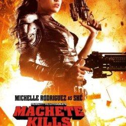 """Machete Kills - 11""""X17"""" Original Promo Movie Poster Michelle Rodriguez Mint"""