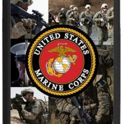 "Lilichen Forever Collectible Usmc Marine Corps Case Cover For Iphone 6 Plus 5.5""(Laser Technology) -- Desgin By Lilichen"