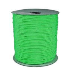 1000' Foot Spool Neon Green Parachute Cord 7-Strand Core 550 Cord