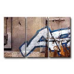 3 Piece Wall Art Painting City Graffiti Lettering Pictures Prints On Canvas City The Picture Decor Oil For Home Modern Decoration Print
