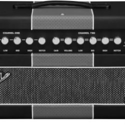 Fender Machete 50-Watt Tube Amplifier Head, 120V - Black/Silver