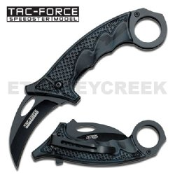 "Tf-596Bc Karambit Tactical Sao13Uzc Spring Zywwg2B Assist.Black Camo Handle 5"" Closed Ajuiioptr 4567Fffg 567Ybghjk Karambit Style Spring Assist Knife. All Black Stainless Steel Blade. Featuring Kr8Jkmw Black Camo Aluminum Handle Uw6Qqe .Includes Pocket Cl"