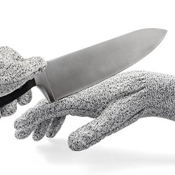 Cut Resistant Gloves - Level 5 Hand Protection - Safety For Home And Work - Kitchen Knives, Butcher, Glass Handling - Stronger Than Leather - More Comfortable Than Steel Mesh - Protect Yourself - Lifetime Guarantee
