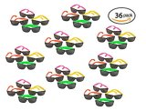 36-Pack-80s-Style-Neon-Party-Sunglasses-Fun-Gift-Party-Favors-Party-Toys-Goody-Bag-Favors