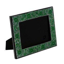 Photo Frames Paper Mache Kashmir Green Floral Handmade Gifts Indian