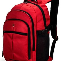 Victoriacross Business And Casual Travel Gear Laptop Daypack Backpack. Ipad Teblet Sports Outdoor School. Journey Trip Camping Bag Hiking.Fashion Macbook Computer Notebook -Vc6010V-S1 Red