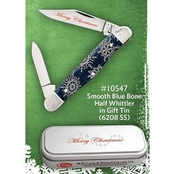 Case Xx 10547 Holiday Specials Smooth Blue Bone Half Whittler
