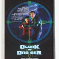 Cloak & Dagger Fridge Magnet