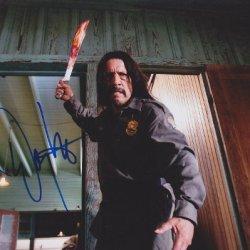 Danny Trejo Autographed/ Hand Signed Machete 8X10 Photo -