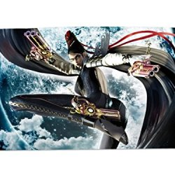 A Wide Variety Of Bayonetta Game Characters Desk & Mouse Pad Table Play Mat (Bayonetta 5)