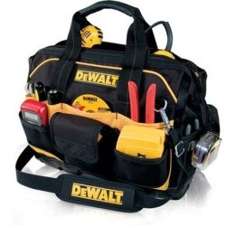 "Dewalt Clc Dg5528 33 Pocket 18"" Closed Top Tool Bag With Molded Base"