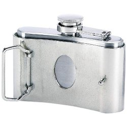 Miscellaneous Belt Buckle Flask Ktflaskbkl3