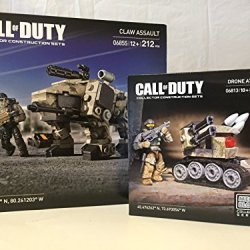 Mega Bloks Call Of Duty Claw Assault And Call Of Duty Drone Attack